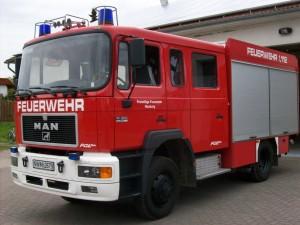 Fahrzeug TLF16/25 Löschgruppe Neuburg